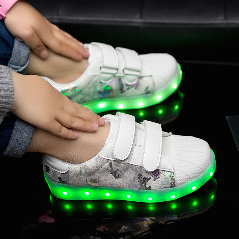 MLS001009 Light Up unisex led shoes for kids