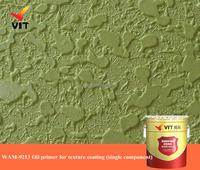 WAM-9213 Oil primer for texture coating (single component), 3D paint, art paint