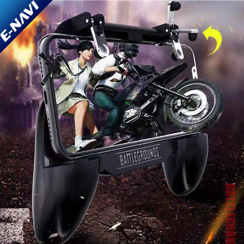 SR Mobile Gaming GamePad Cooler Cooling Fan Free Fire PU BG Controller Trigger