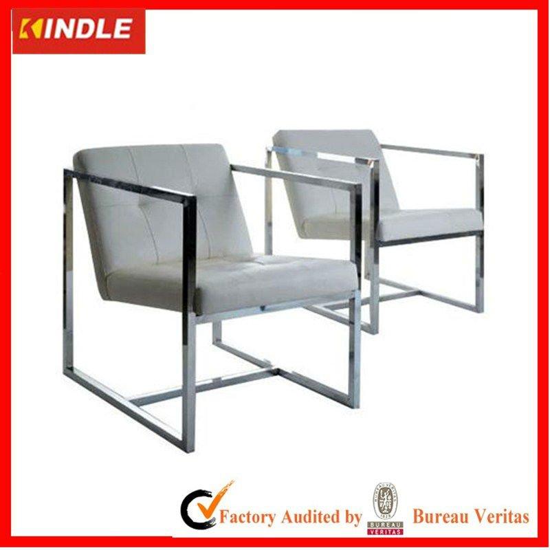 de acero inoxidable silla, Tubo cuadrado, muebles modernosSillas de