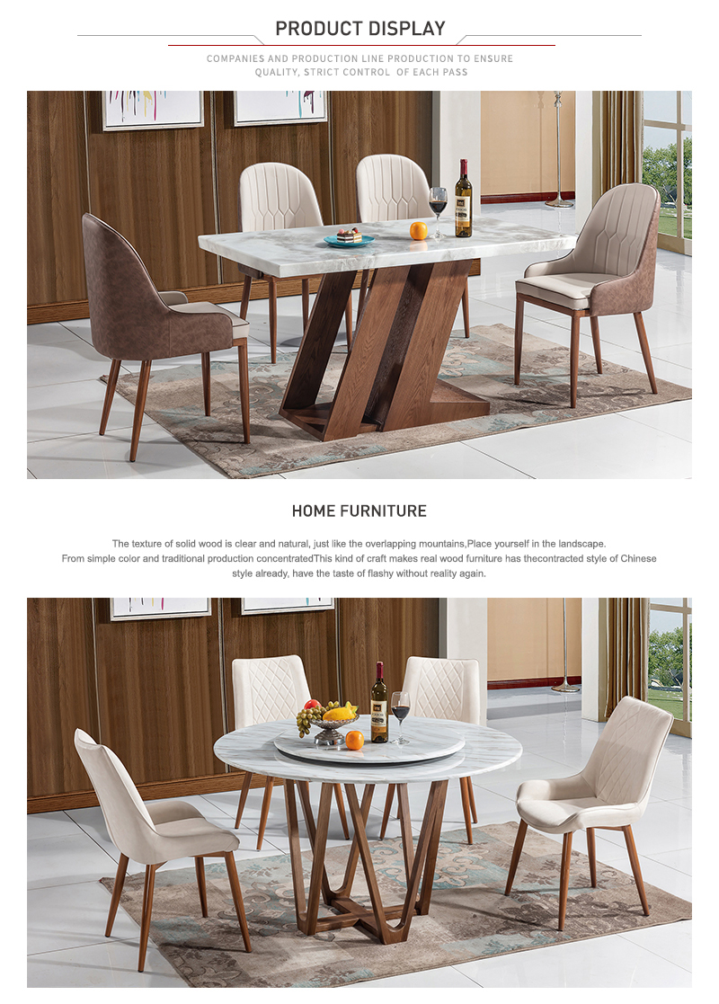 Wholesale Price wood Table Chair Dining table Set high quality dining room set