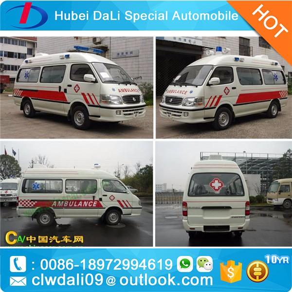 China Hot Sale High Quality Ambulance Dimensions - Buy Ambulance ...