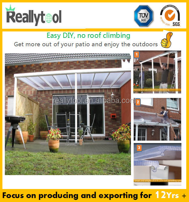 Aluminum Attached Solid Patio Covers/door Awning /outdoor Canopy/aluminum  Carports/pergola   Buy Pergola,Canopy,Awning Product On Alibaba.com