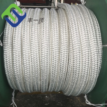 HOT SALE 12 Strand 2 Inch Double Braided Color Nylon Rope Price