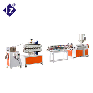 LIANXIN tpu rubber band extrusion manufacturing machine used plastic machine taiwan