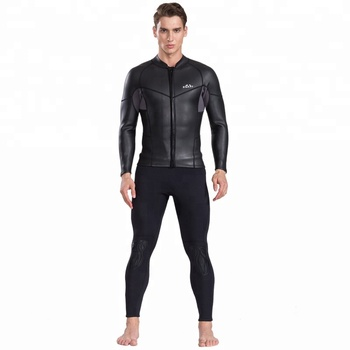 a17611d75 best selling mens 2mm front zip neoprene jackets smooth skin surfing  wetsuit tops