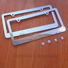 aluminum die casting license plate frame used for car