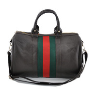 PU leather fashion lady traveling bag