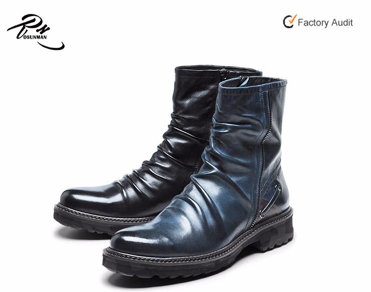 47bdd7e1e18b6 Fashionable Design Mexican Cowboy Men Long High Cut Boots Shoes ...