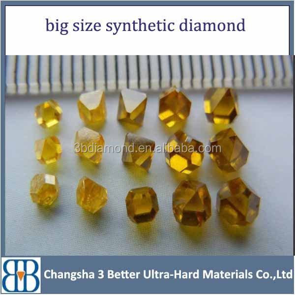 wholesale big size synthetic diamond