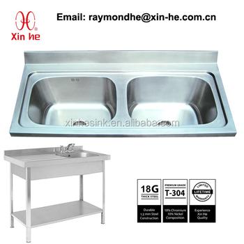 Großküche Catering Spüle Spülküche Becken Mit Spritzschutz,Portable ...