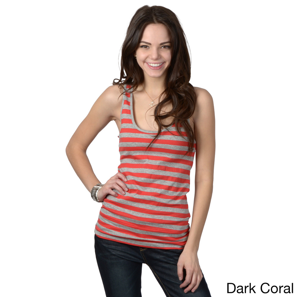 083f7688cd7b29 Lace Accent Striped Tank Tops for Ladies Girls Sexy Sleeveless Top Printed  Tank Top