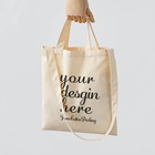 premium fashionable cotton canvas conference tote bags and cotton grocery shopping bags