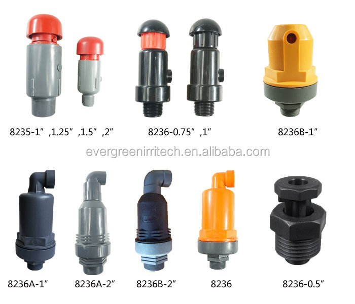 8235 1 00 Quot Plastic Pressure Relief Valve Buy Adjustable