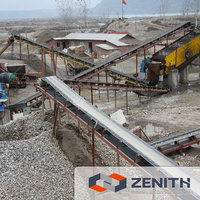 Rubber Conveying Equipment for mining industry 5-200TPH