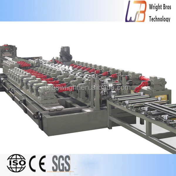 colored steel plate roll forming machine