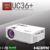 UNIC 2017 New wireless connection led projector wifi professional projector UC36+