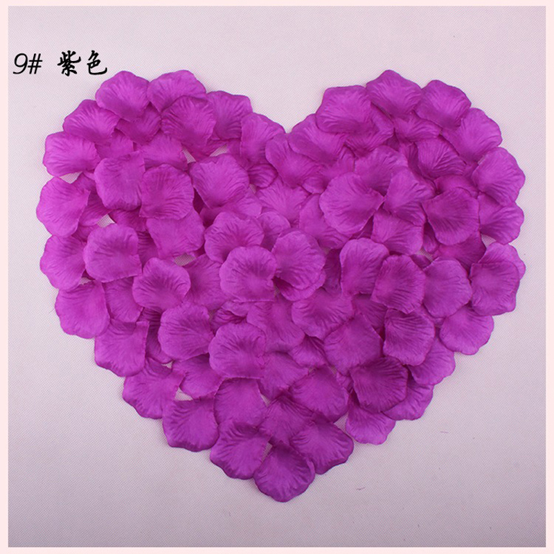 3600 Artificial Silk Rose Petals Wedding Party Decorations