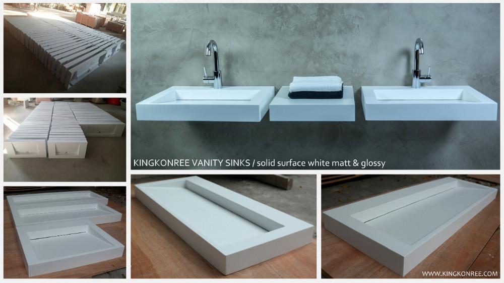 Custom Lange Smalle Badkamer Wastafel/rechthoek Wassen Sink - Buy ...