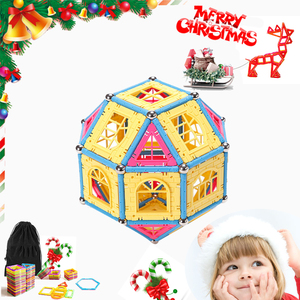 Good Price Christmas Gift Magic Magnet Stick Construction Toy For Kids