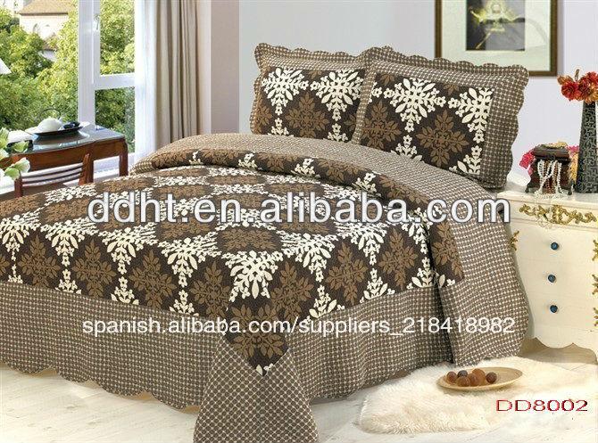 creative pas conjunto ropa de cama patchwork poli conjunto ropa de cama