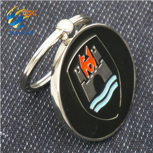 Make Your Own Logo Metal 3D Key Chain Parts Special Alloy Elegant Design Keychain