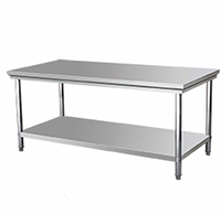 Stainless Steel Work Table Commercial Food Prep Kitchen Restaurant