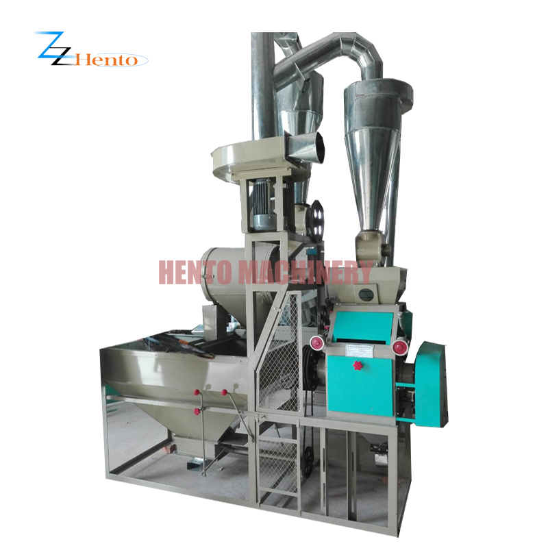 Corn Maize Wheat Milling Grinding Machine Flour Mill Machinery