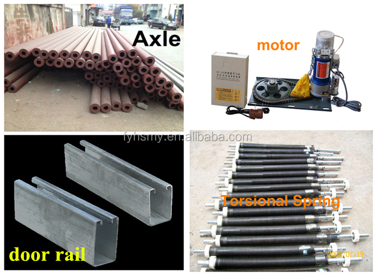 security aluminum roll up windows for partition wall/electrical rolling shutter doors and windows