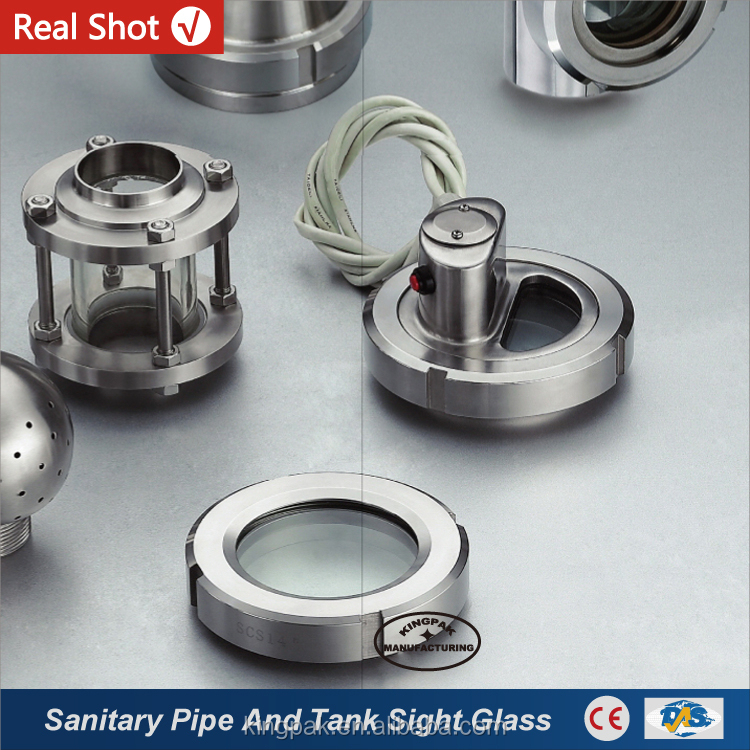 Stainless Steel Pipe And Tank Sight Glass