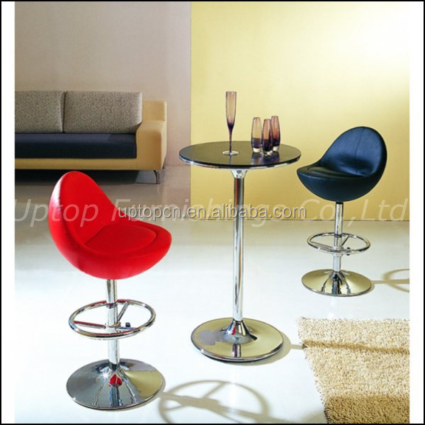 Luxury Bar Furniture Table and Chair Covered with Cushion (SP-BT511)