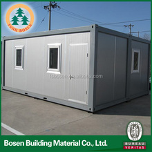 Prefab portable gray sandwich panel container house