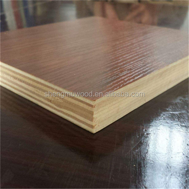 18mm sanded plywood laminated melamine faced commercial plywood