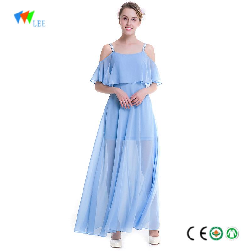 6ff97b40bc136 OEM услуги летом случайные длинное платье для женщин Праздник пляжное платье