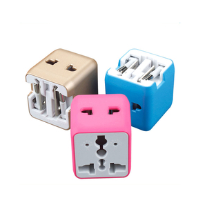 Pocket travel agency and tour operator universal plug power outlet socket converter travel accessories adapter mini travel