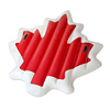 Maple leaf pool floatie