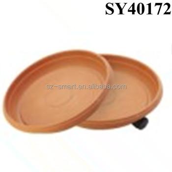 225 & Terracotta Color Round Plastic Flower Pot Saucer - Buy Round Plastic Flower Pot SaucerPlastic Flower Pot SaucerFlower Pot Saucer Product on ...