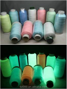 Вышивка с люминесцентными нитками