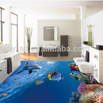 Hause Buro Und Showroom Bodenbelag 3d Boden Aufkleber Und Design