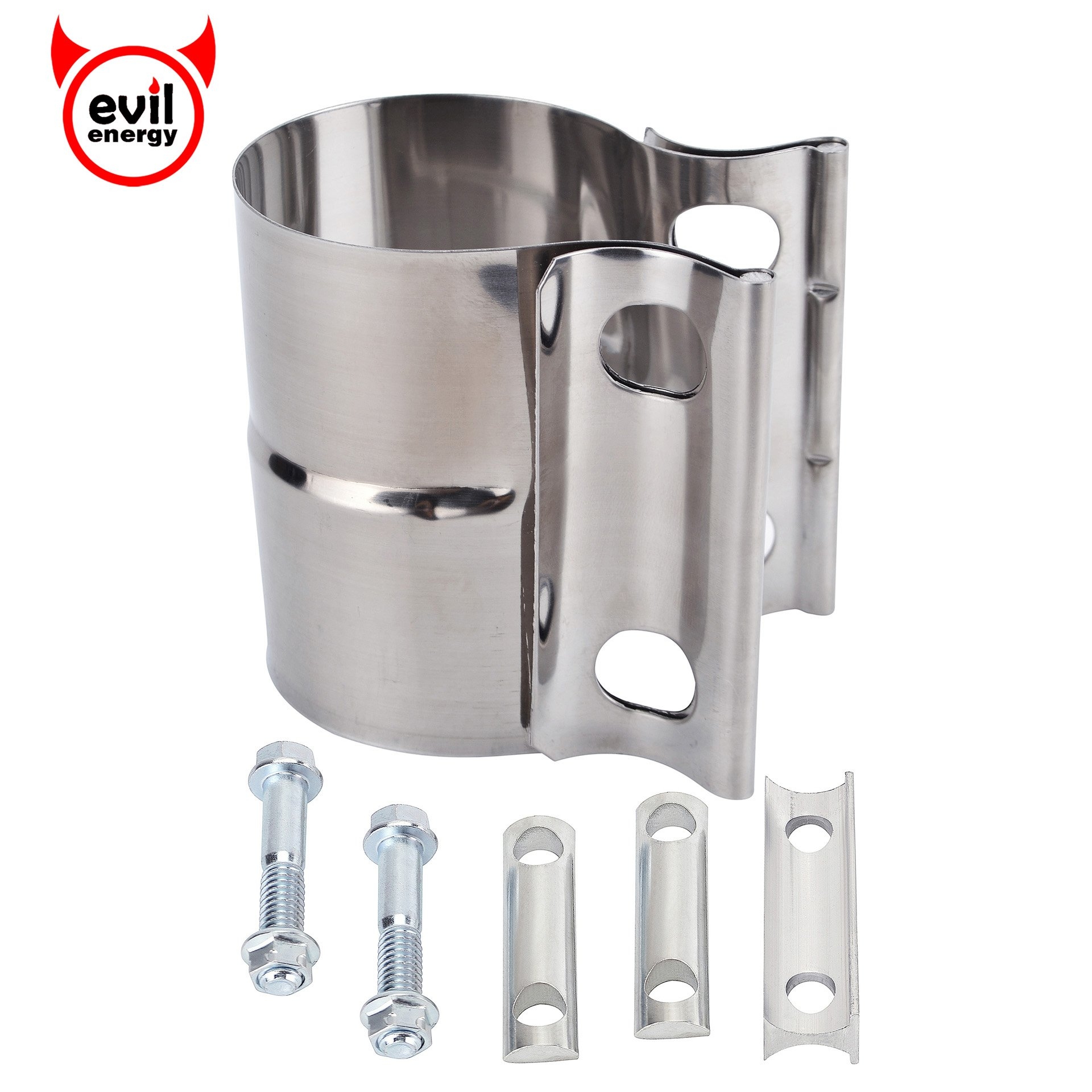 Cheap Lap Joint Band Clamp Find Deals On Line 33976 Fuel Filter Get Quotations Evilenergy 2 Exhaust Preformed 304 Stainless Steel