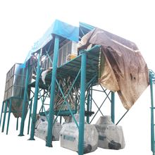 80T wheat flour mill plant with low price