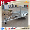 cargo box trailer with mesh cage