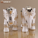 Thai white resin elephant home decoration for interior ornament wedding decoration