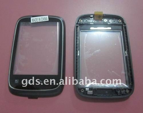 Touch screens digitizer for XT300(Black&white)