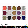 private label cosmetic glitter eyeshadow wholesale makeup