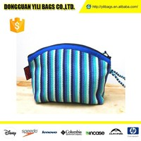 Wholesale Mesh Zebra Nylon Cosmetic Bags