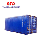 China supplier 20 feet open top shipping container for sale