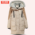 HOT Winter clothes for pregnant women long sleeve thick maternity down jackets both side of zipper