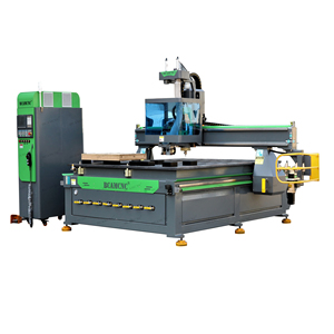 New Design 1325D China homemade CNC Router Machine With Boring Head For Cabinets