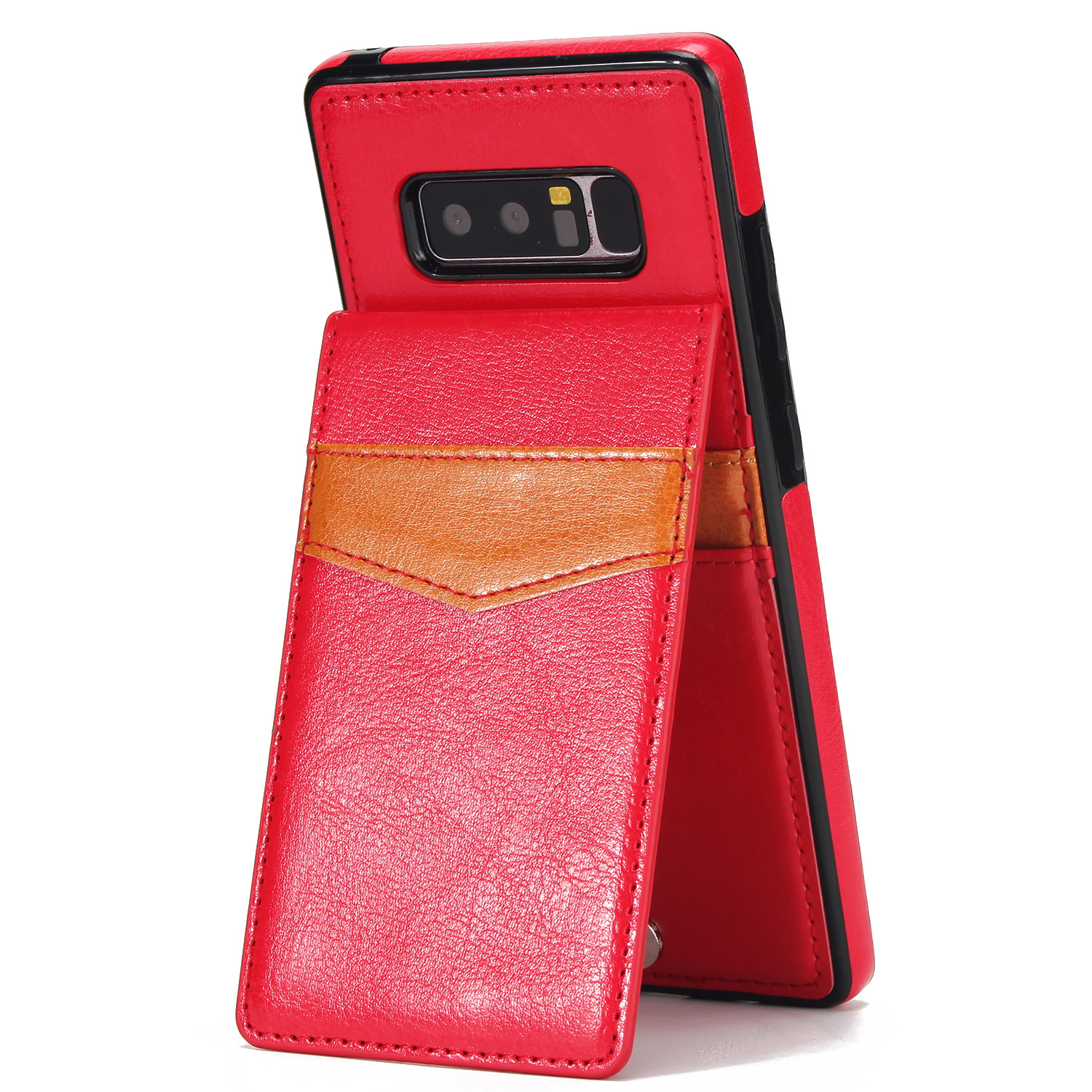 Leather Holster Case Wallet Pouch Card Holder Case For Samsung Galaxy Note 8
